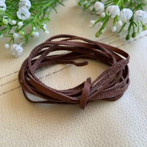 💕5 for $10: suede leather cord